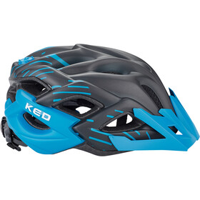KED Status Jr. Helmet Barn black blue matt